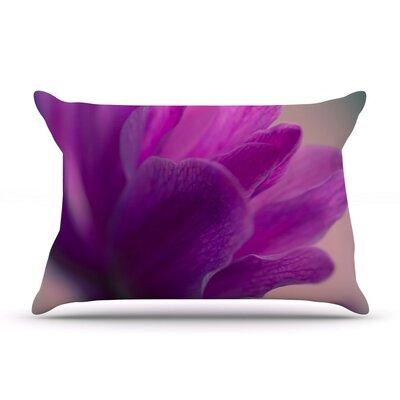 Standing Ovation by Ann Barnes Flower Cotton Pillow Sham