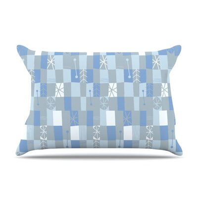 Nature Check Winter by Allison Beilke Cotton Pillow Sham