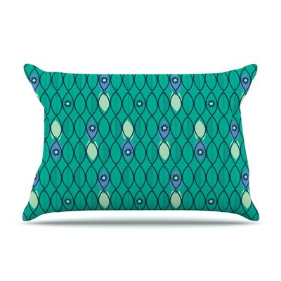 Suncoast Emerald by Allison Beilke Cotton Pillow Sham