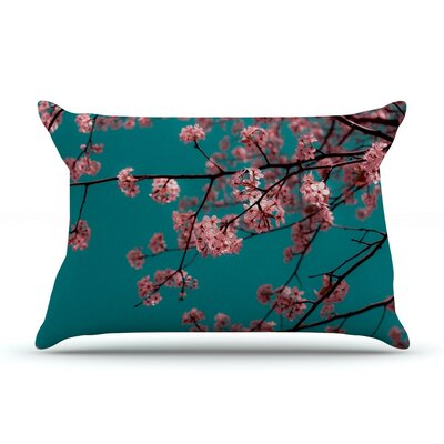 Dreaming in Pink by Ann Barnes Cotton Pillow Sham