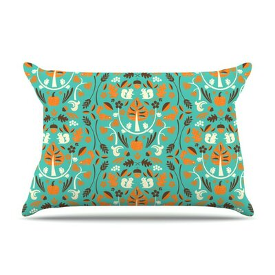 Autumn Harvestby Allison Beilke Cotton Pillow Sham