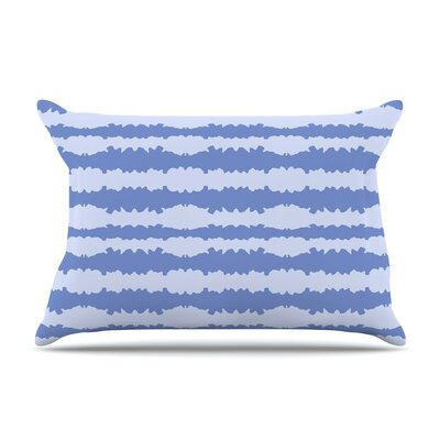 Nautical Breeze Ocean Ripple by Mydeas Cotton Pillow Sham