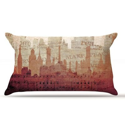 City by Alison Coxon Warm Cotton Pillow Sham