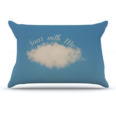 Soar With Me by Beth Engel Cloud Featherweight Pillow Sham
