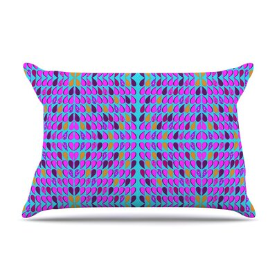 Optical Paisley by Fernanda Sternieri Cotton Pillow Sham