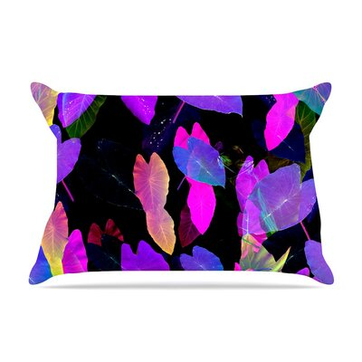 Fluo Jungle by Fernanda Sternieri Cotton Pillow Sham