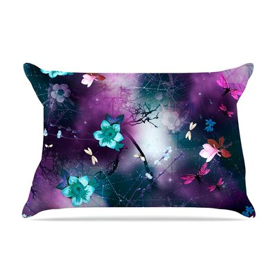 Fairy Tale Floral by Fernanda Sternieri Cotton Pillow Sham
