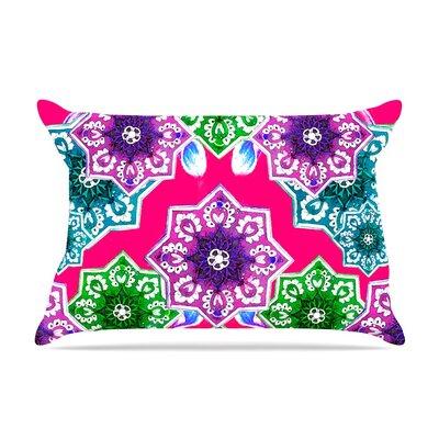 Flower Power by Fernanda Sternieri Cotton Pillow Sham