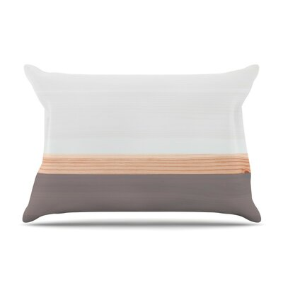 Wood Cotton Pillow Sham
