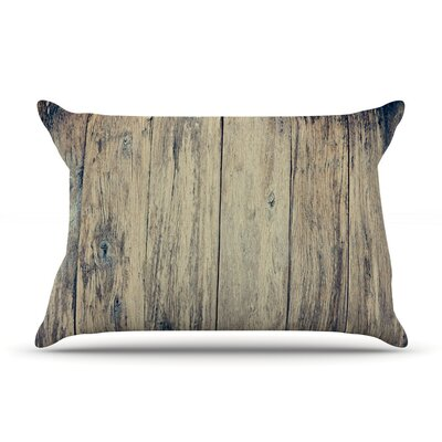 Wood Photography by Beth Engel Cotton Pillow Sham