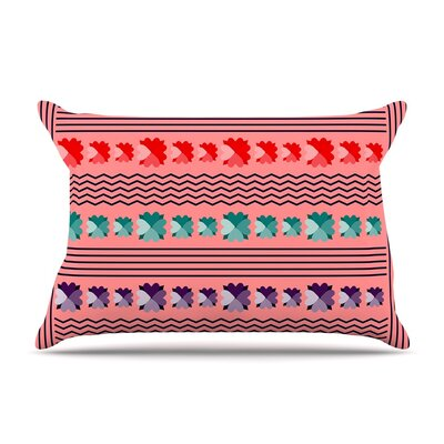 Romantic Love by Famenxt Abstract Cotton Pillow Sham