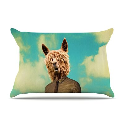 Passenger 11A by Natt Cotton Pillow Sham