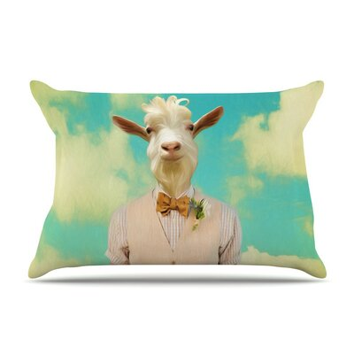 Passenger 6F by Natt Goat Cotton Pillow Sham