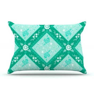 Diamonds Mint by Anneline Sophia Seafoam Featherweight Pillow Sham