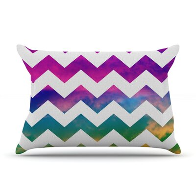 Lucky Chevron by Beth Engel Cotton Pillow Sham
