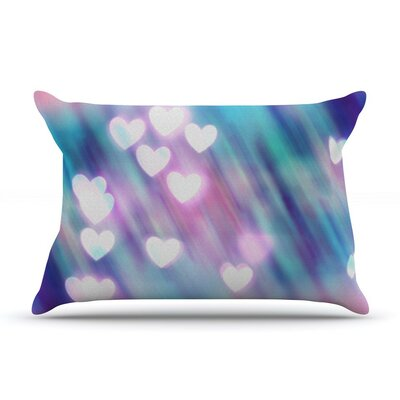 Your Love is Sweet Like Candy by Beth Engel Heart Cotton Pillow Sham