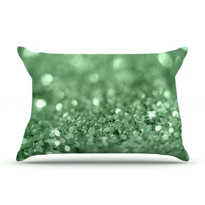 Lucky Shamrock by Beth Engel Cotton Pillow Sham
