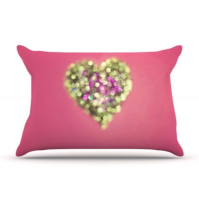 Make Your Love Sparkle by Beth Engel Cotton Pillow Sham