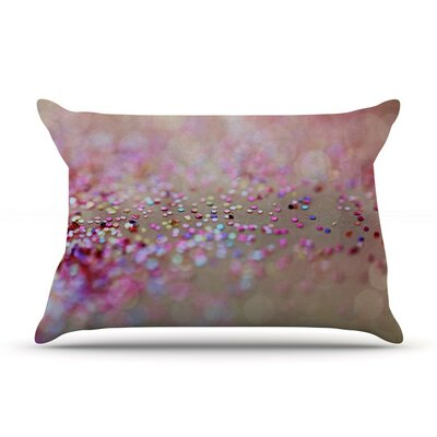 Princess Confetti by Beth Engel Cotton Pillow Sham