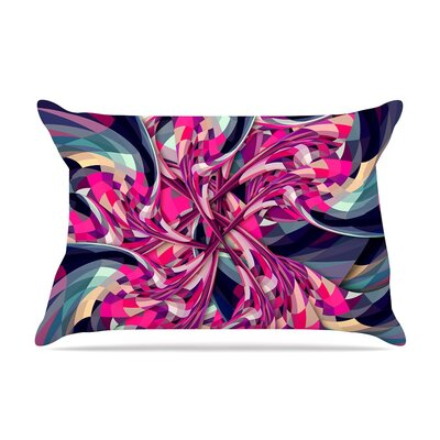 Spiral by Danny Ivan Geometric Cotton Pillow Sham