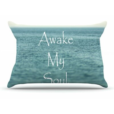 Awake My Soul by Debbra Obertanec Woven Pillow Sham