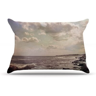 Rocky Coast by Debbra Obertanec Sea View Woven Pillow Sham