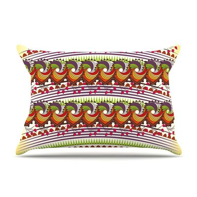 Colorful Traditional by Famenxt Digital Cotton Pillow Sham