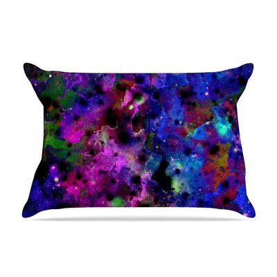 Color Me Floral Celestial by Ebi Emporium Cotton Pillow Sham