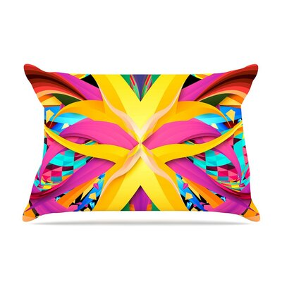 Tropical Fun by Danny Ivan Cotton Pillow Sham