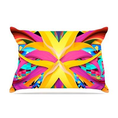 Tropical Fun by Danny Ivan Cotton Pillow Sham