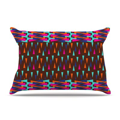 Abstract Triangle by Famenxt Cotton Pillow Sham