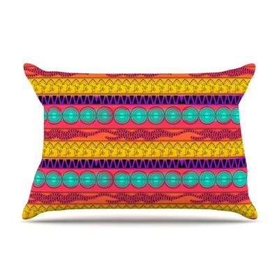 Colorful by Famenxt Cotton Pillow Sham