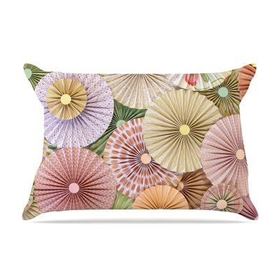 Spring Pastels Abstract by Heidi Jennings Cotton Pillow Sham