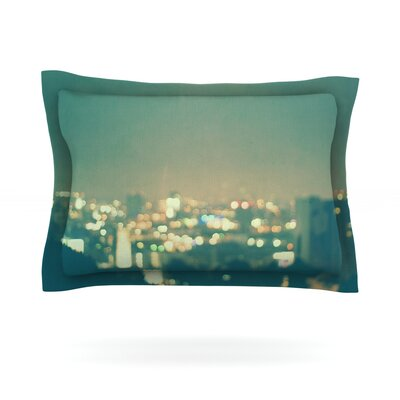 Anniversary by Myan Soffia City Lights Cotton Pillow Sham