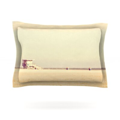 Toffee-Marshmallow by Myan Soffia Beach Cotton Pillow Sham