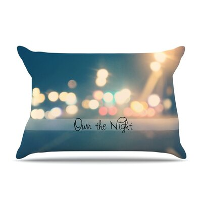 Own The Night by Beth Engel Cotton Pillow Sham