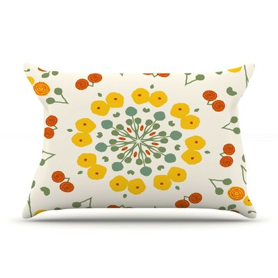 Ranunculas by Laura Nicholson Floral Cotton Pillow Sham