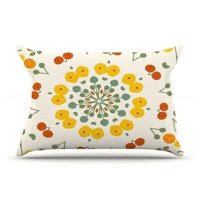 Ranunculas Floral by Laura Nicholson Cotton Pillow Sham