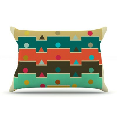 Modern Graphics by Bri Buckley Geometry Cotton Pillow Sham