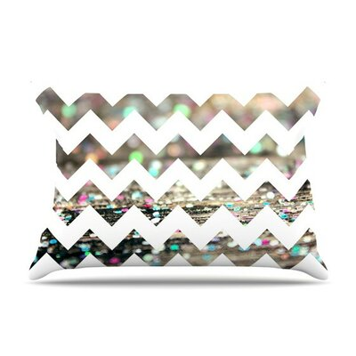 After Party Chevron by Beth Engel Cotton Pillow Sham