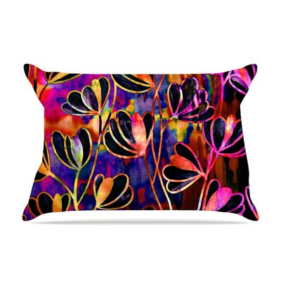 Efflorescence Deep Jewel by Ebi Emporium Rainbow Featherweight Pillow Sham