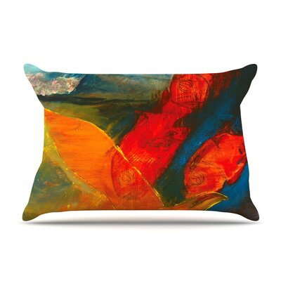 Whats Beneath My Feet Fish Seagull by Josh Serafin Cotton Pillow Sham
