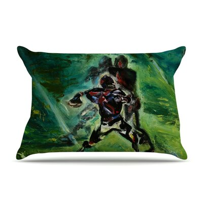 1st & 10 by Josh Serafin Baseball Cotton Pillow Sham