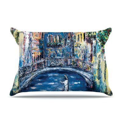 Venice by Josh Serafin Travel Italy Cotton Pillow Sham