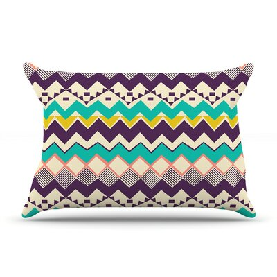 Ethnic Color by Louise Machado Purple Featherweight Pillow Sham