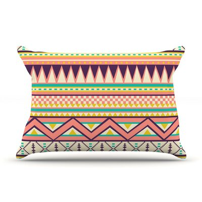 Ethnic Love Tribal Geometric by Louise Machado Cotton Pillow Sham