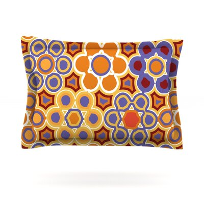 Flower Garden by Laura Nicholson Cotton Pillow Sham