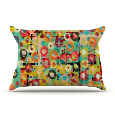 Gift Wrapped by Bri Buckley Featherweight Pillow Sham, Crazy Abstract