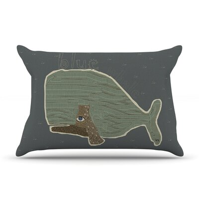Whale by Bri Buckley Cotton Pillow Sham