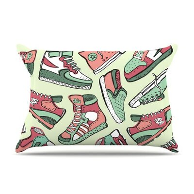Sneaker Lover II by Brienne Jepkema Cotton Pillow Sham